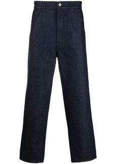 Barena high-rise straight-leg trousers