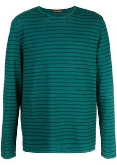 Barena longsleeved striped T-shirt