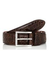 Barneys New York Men's Alligator Belt