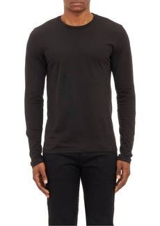 Barneys New York Men's Cotton Long-Sleeve T-Shirt