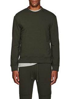 Barneys New York Men's Brushed Cotton-Blend Fleece Sweatshirt