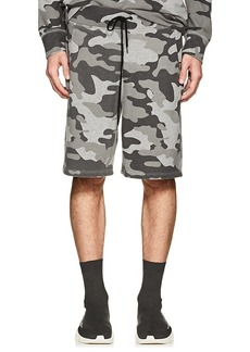 Barneys New York Men's Camouflage Terry Sweatshorts