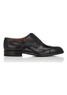Barneys New York Men's Cap-Toe Leather Balmorals