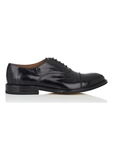 Barneys New York Men's Cap-Toe Leather Balmorals