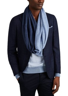 Barneys New York Men's Cashmere Infinity Scarf - Blue