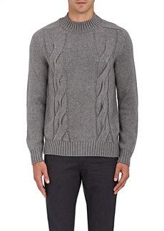 Barneys New York Men's Cashmere Mock-Turtleneck Sweater