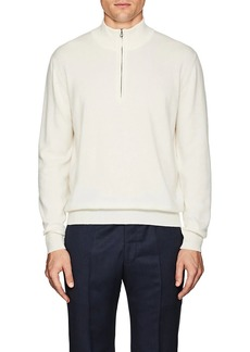 Barneys New York Men's Cashmere Quarter-Zip Sweater