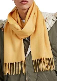 Barneys New York Men's Cashmere Scarf - Yellow