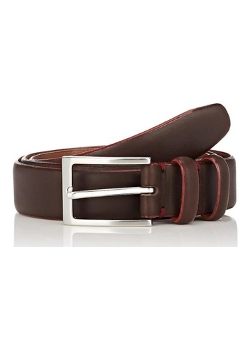 0936b303fa884 Barneys New York Barneys New York Men s Contrast-Edge Leather Belt