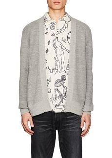 Barneys New York Men's Cotton-Alpaca Cardigan