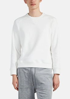 Barneys New York Men's Cotton-Blend Fleece Sweatshirt