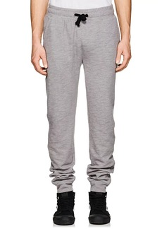 Barneys New York Men's Cotton-Blend French Terry Sweatpants