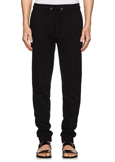 Barneys New York Men's Cotton-Blend Terry Jogger Pants