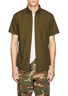 Barneys New York Men's Cotton Button-Down Shirt
