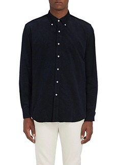 Barneys New York Men's Cotton Corduroy Button-Down Shirt