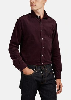 Barneys New York Men's Cotton Corduroy Shirt