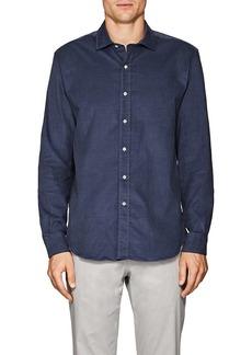 Barneys New York Men's Cotton Corduroy Shirt