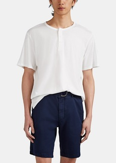 Barneys New York Men's Cotton-Modal Henley