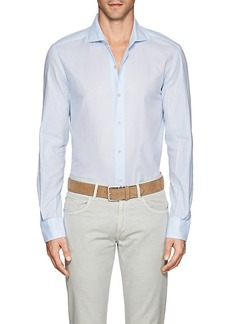 Barneys New York Men's Cotton Piqué Shirt