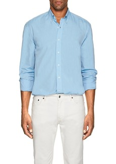 Barneys New York Men's Cotton Poplin Button-Down Shirt