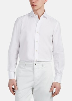 Barneys New York Men's Cotton Poplin Shirt