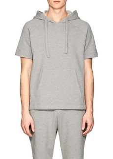 Barneys New York Men's Cotton Short-Sleeve Hoodie