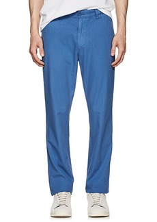 Barneys New York Men's Cotton Twill Slim Chinos