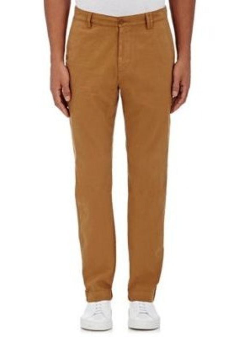 Barneys New York Men's Cotton Twill Slim-Fit Chinos