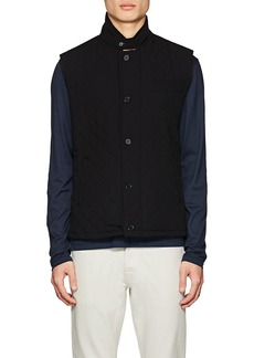 Barneys New York Men's Diamond-Quilted Tech Vest