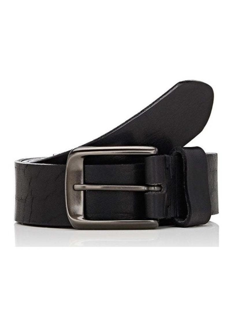 26d6175419656 Barneys New York Barneys New York Men s Distressed Leather Belt