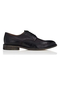 Barneys New York Men's Distressed Leather Bluchers