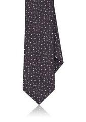 Barneys New York Men's Dotted Silk-Blend Necktie
