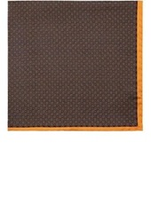Barneys New York Men's Dotted Silk Pocket Square