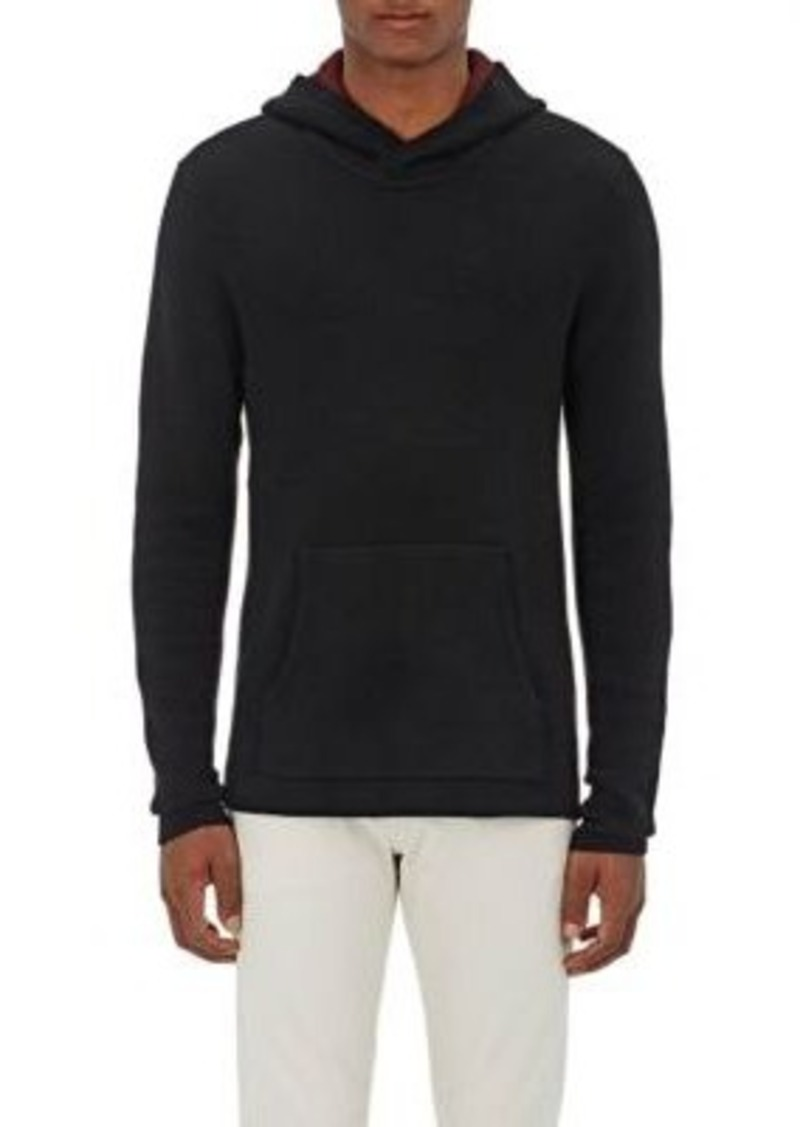 Barneys New York Men's Double-Faced Cashmere Hoodie