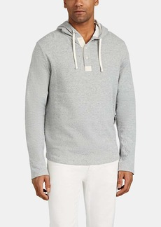 Barneys New York Men's Double-Faced Cotton-Blend Hoodie