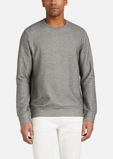 Barneys New York Men's Double-Faced Cotton-Blend Sweatshirt