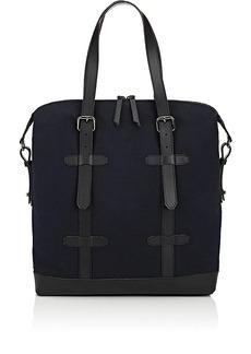 Barneys New York Men's Double-Handle Tote Bag - Black