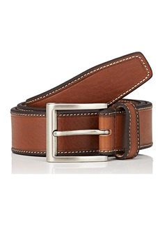 Barneys New York Men's Double-Keeper Suede Belt