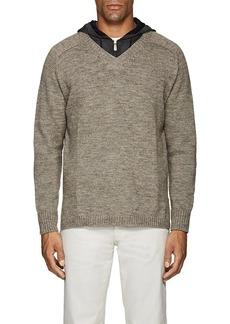 Barneys New York Men's Eco-Wool V-Neck Sweater