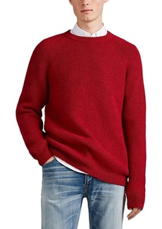 Barneys New York Men's English Rib-Knit Alpaca Sweater