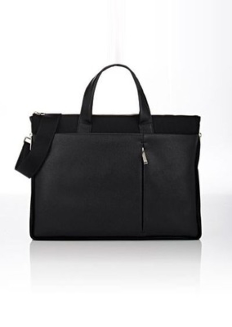 Barneys New York Men's Expandable Slim Briefcase