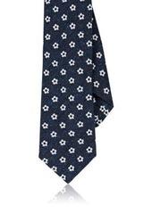 Barneys New York Men's Floral-Medallion Necktie