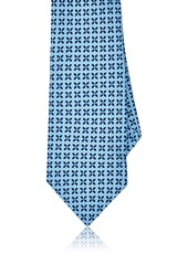 Barneys New York Men's Floral Medallion Silk Foulard Necktie