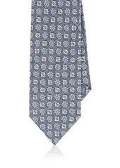 Barneys New York Men's Floral Medallion Silk Necktie
