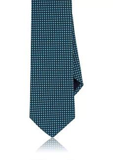 Barneys New York Men's Floral Neat Silk Necktie