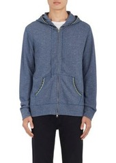 Barneys New York Men's Cotton-Blend French Terry Hoodie