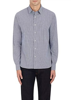 Barneys New York Men's Gingham Cotton Dobby Dress Shirt