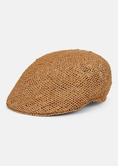 Barneys New York Men's Golf Straw Cap