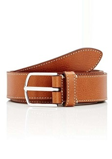 Barneys New York Men's Grained Leather Belt