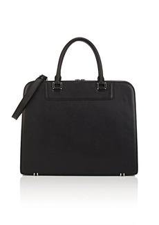 Barneys New York Men's Leather Briefcase - Black